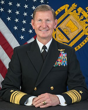 Walter E. Carter Jr. - Vice Admiral Carter, 62nd Superintendent of the United States Naval Academy