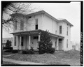 VIEW NORTHWEST, SOUTH FRONT AND EAST SIDE - Jesse Wolf House, 210 East Main Cross Street, Findlay, Hancock County, OH HABS OHIO,32-FIND,1-3.tif