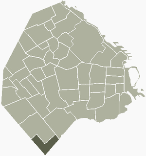Villa Riachuelo - Image: V Riachuelo Buenos Aires map
