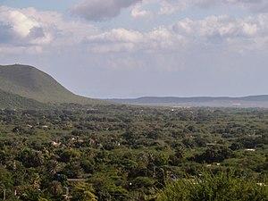 Cerro El Copey National Park - Image: Valle de San Juan