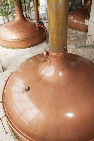 Velkopopovický Kozel - Historical part of the Brewery