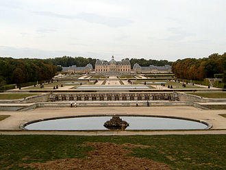 Moonraker (film) - The Château de Vaux-le-Vicomte was used for Drax's chateau in the film. An extensive aerial view of the site was witnessed by helicopter in the early stages of the film by Bond and Dufour arriving.