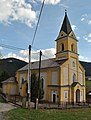 Veľké Borové - rímsko-katolícky kostol povýšenia Sv. kríža.JPG
