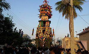 Challakere - Veerabhadraswamy Jaathre Rathotsava