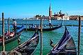 "Venice city scenes - gondoliers rule the ""streets"" - (11002295494).jpg"