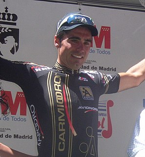 Francisco Ventoso Road bicycle racer