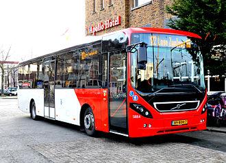 Volvo B8RLE - Veolia Transport 8900LE-bodied B8RLE in Breda.
