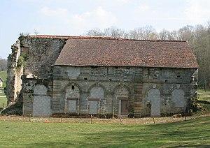 Morimond Abbey - Ruins of the library at Morimond Abbey