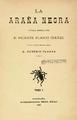 Vicente Blasco Ibáñez (1892) La araña negra, tomo I.png