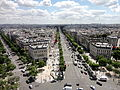 View from Arc de Triomphe 21 2012-07-02.jpg