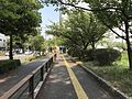 View near north moat of Fukuoka Castle 6.jpg