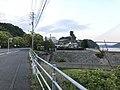 """View of Murakami Santo Memorial Museum and Roadside Station """"Imabari City Tatara Shimanami Park"""".jpg"""