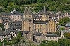 View of Saint Faith Abbey of Conques 01.jpg