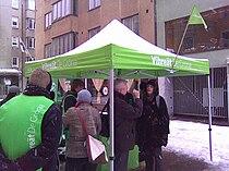 Vihreiden vaaliteltta Isolla Roballa.jpg
