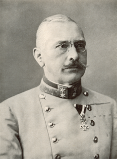 Viktor Dankl von Krasnik austrian general