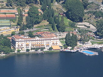 Brexit negotiations - The Ambrosetti Forum is held annually in the Villa d'Este on the shores of Lake Como in Italy.