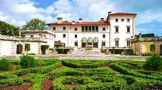 Vizcaya Museum and Gardens - Vizcaya, February 2011