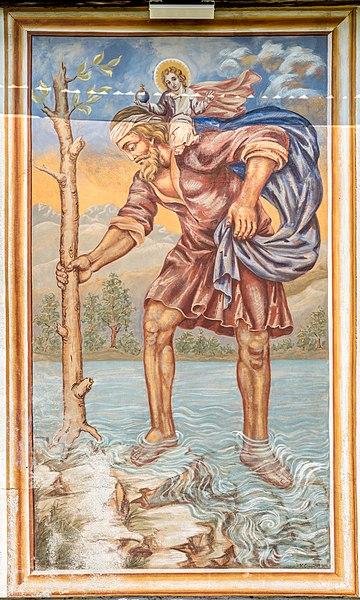 File:Villach Sankt Michael Filialkirche hl Michael hl Christophorus 14042017 7514.jpg