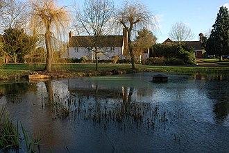 Apperley - Image: Village pond at Apperley geograph.org.uk 643370