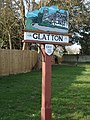 Village sign Glatton - geograph.org.uk - 714754.jpg