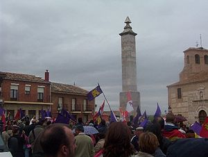 Castile and León Day - The 2005 celebration in Villalar