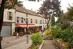 Quartier ancien, à Villejuif.