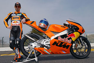KTM 125 FRR Racing motorcycle