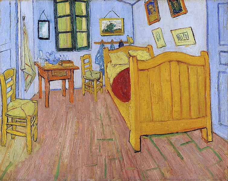File:Vincent van Gogh - De slaapkamer - Google Art Project adjusted.jpg