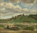 Vincent van Gogh - The hill of Montmartre with stone quarry - Google Art Project.jpg