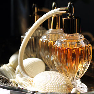 Perfume - Vintage atomizer perfume bottle