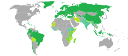 Visa requirements for Bosnia and Herzegovina citizens.png