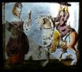 Vitral de cavaleiro e senhora com taça (século XVIII), Palácio da Pena.png