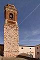 Vivel del Río Martín, Iglesia parrroquial, torre, 02.jpg
