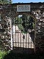 Vlachovo Březí, židovský hřbitov, vstup, 04.jpg