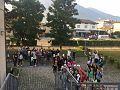 Volantinaggio del primo giorno di scuola 2016 della Rete degli Studenti Medi. Feltre, Veneto.jpg