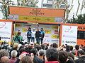 Volta Catalunya 2013. Christian Meier al podi (esprints).JPG