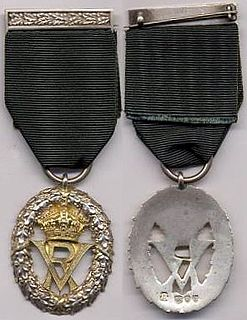 Volunteer Officers Decoration military service decoration of the United Kingdom