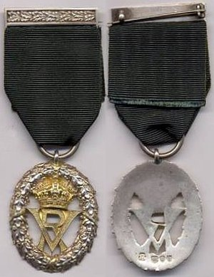 Volunteer Officers' Decoration - Image: Volunteer Officers' Decoration (Victoria)