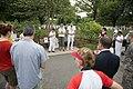 Volunteers with Monarch Teacher Network release butterflies in Arlington National Cemetery (28796534191).jpg
