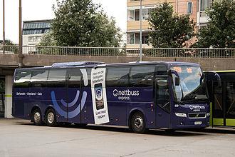 Nettbuss express - Nettbuss express NX190 from Kristiansand in Oslo.
