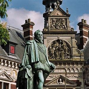 Johann VI, Count of Nassau-Dillenburg - Statue of Johann VI in Utrecht.