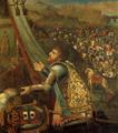 Voto de D. João I a Nossa Senhora da Oliveira na Batalha de Aljubarrota.png