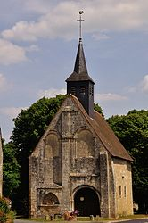 The church of Saint-Saturnin, in Vouillon