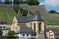 Würzburg, Kath. Pfarrkirche St. Burkard, Ansicht vom Willy-Brand-Kai 20170624 005.jpg