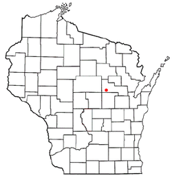 Location of Fairbanks, Wisconsin