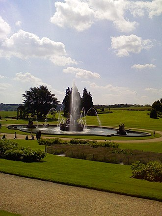 Witley Court - The Perseus and Andromeda fountain