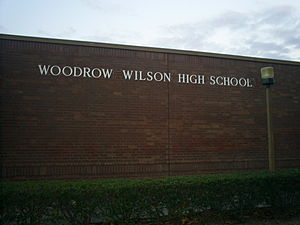 Woodrow Wilson High School cover