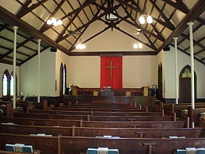 Waioli Mission District - Image: Waioli Huiia church sanctuary