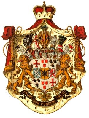 Declaration of war by the United States - Image: Wappen Deutsches Reich Fürstentum Waldeck und Pyrmont