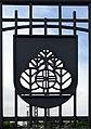 Wappen vom Stadtteil Mooswald an der Kaiserstuhlbrücke in Freiburg.jpg